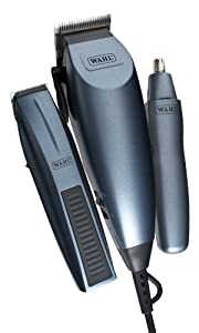 Wahl Men's Clipper,Trimmer and Nasal Trimmer Deluxe Gift Set