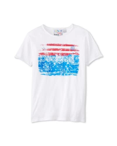 Desigual Men's Flag T-Shirt