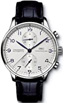 Luxury Watches Sale - IWC Men's Portuguese Chronograph Automatic Watch #IW371417