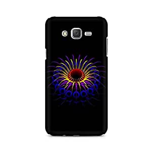 Mobicture Floral Abstract Premium Printed Case For Samsung J3