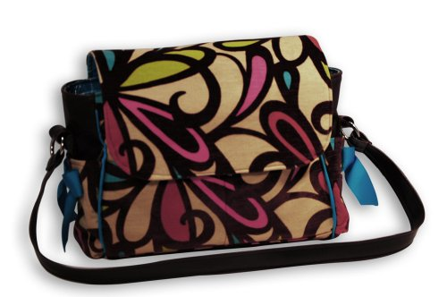 Caught Ya Lookin' Diaper Bag, Swirl, Large