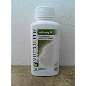 NUTRILITE Cal Mag D – Help prevent osteoporosis with calcium and vitamin D – 180 Use(s) per Bottle