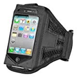 Iphone 4 4s 3g 3gs ipod touch Black Strong ArmBand Case Cover For Sports Gym Bike Cycle Jogging Running