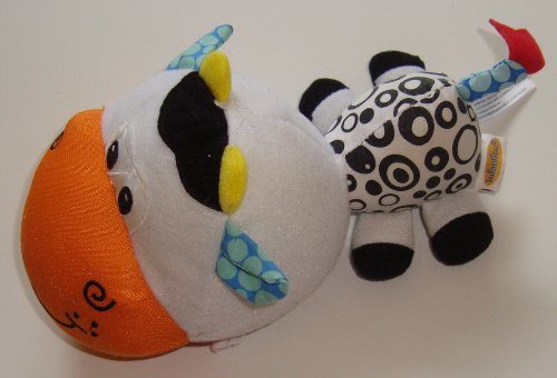 Infantino Movers & Shakers Musical Cow - 1
