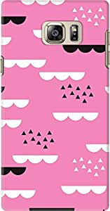 galaxy note 5 back case cover ,Geometric Sky Pink Designer galaxy note 5 hard back case cover. Slim light weight polycarbonate case with [ 3 Years WARRANTY ] Protects from scratch and Bumps & Drops.