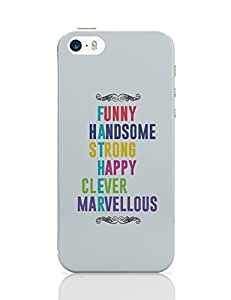 PosterGuy iPhone 5 / 5S Case Cover - Definition Of Father Father, Definition, Meaning, Quotes, Typography, Colorful, Fonts, Illustration,