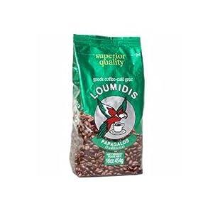 Greek Ground Coffee (loumidis) 16oz (454g) by parthenonfoods.com