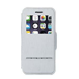 Iphone6 Plus Touch Sense Flip Cover Case Grey