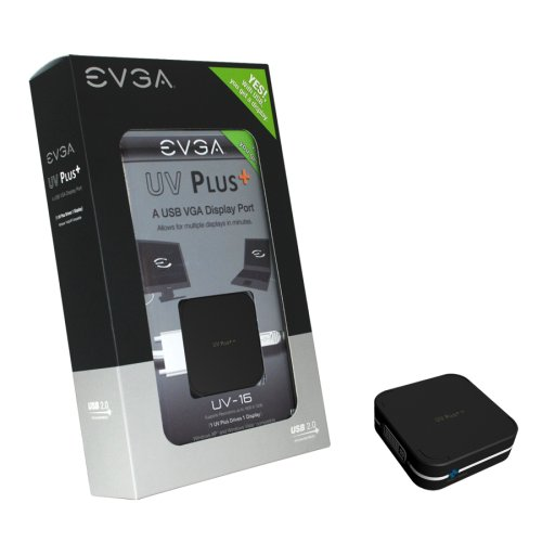 EVGA UV-16 UV Plus+ USB VGA Display Port (100-U2-UV16-A1)