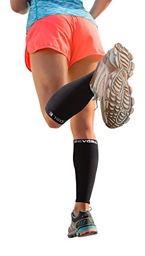 Calf-Compression-Sleeve-BeVisible-Sports-Leg-Compression-Socks-for-Men-Women-Footless-Calf-Guard-Sleeves-for-Shin-Splints-Running-Cycling-Basketball-Travel-Circulation-Support-1-Pair
