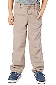 Autograph Linen Blend Adjustable Waist Trousers