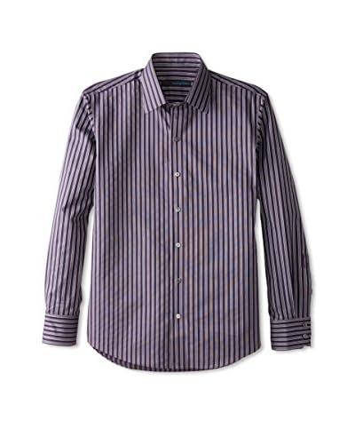Zachary Prell Men's Patrick Striped Long Sleeve Shirt