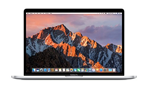 Apple MacBook Pro MLW72LL/A 15-inch Laptop with Touch Bar (2.6GHz quad-core Intel Core i7, 256GB Retina Display), Silver (Apple Thunderbolt Display Glass compare prices)