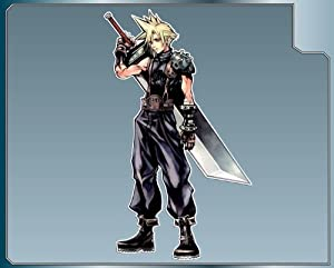 """CLOUD STRIFE from Dissidia Final Fantasy vinyl decal sticker #1 6"""""""
