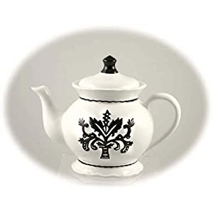 Black And White Teapots Whimsical Teapots Teacups