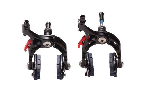 Image of Kanzo Road Bike Brake Calipers Front Rear Set 241g pair (B005EKGM26)