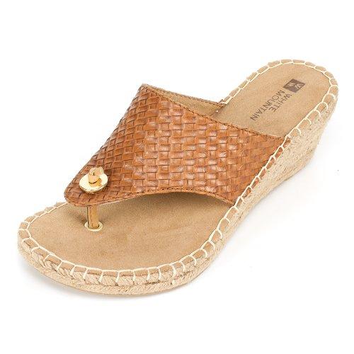 White Mountain 'Beachball' Women'S Sandal, Tan - 8 M front-409014
