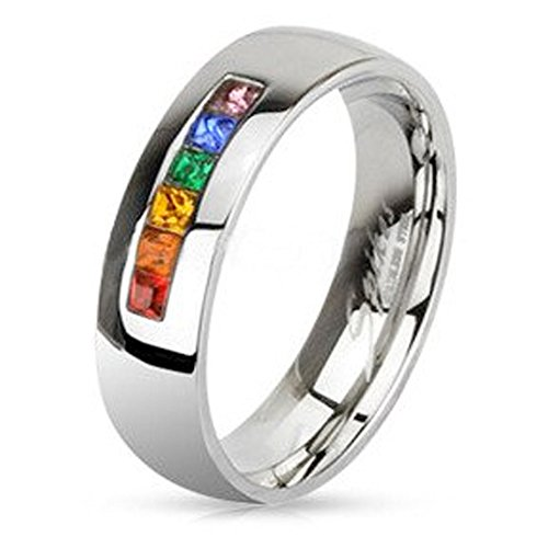 inexpensive gay pride wedding rings or engagement rings With same sex wedding rings