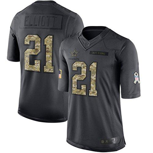 Ezekiel Elliott Dallas Cowboys Mens 2016 Salute to Service Limited Jersey XXL (Marshall Service Shirt compare prices)