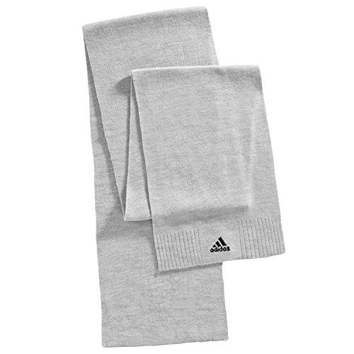 Adidas Performance-OSFM sciarpa lavorata a maglia Unisex, Uomo, Grey, Taglia unica