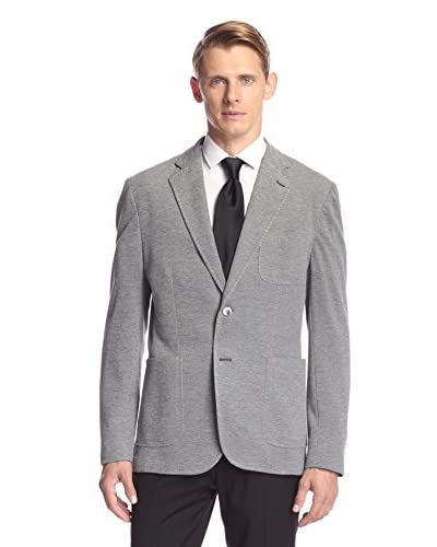 Hardy Amies Men's Pique Knit Sportcoat