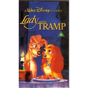 Lady And The Tramp [VHS] [1955]: Barbara Luddy, Larry ...
