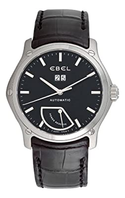 Ebel Men's 9304F51/5335145 Classic Black Power Reserve Dial Watch