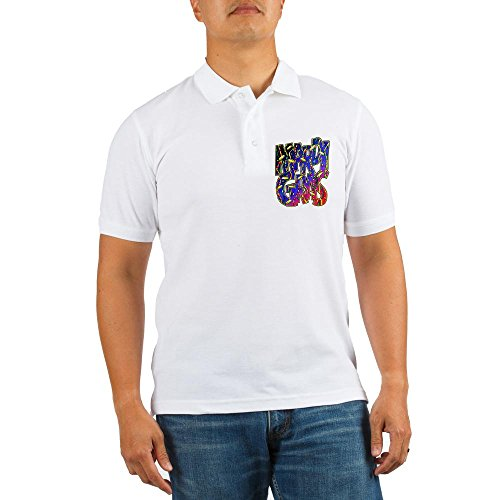 Royal Lion Golf Shirt Mardi Gras Fat Tuesday with Beads