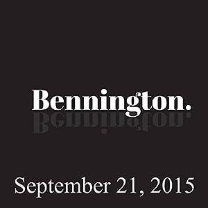 Bennington, Brian Regan and Judah Friedlander, September 21, 2015 Radio/TV Program