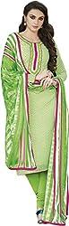 Jinaam Dress Women's Printed Bhagalpuri Salwar Suit Dupatta Material (3N-D90H-O5SG)