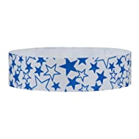 eCart Products Tyvek Wristband - Stars. 1000 wristbands per dispenser box.