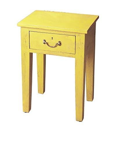 Butler Avignon Chairside Table, Yellow