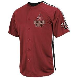MLB Arizona Diamondbacks Crosstown Rivalry Jersey, Garnet Black White by Majestic