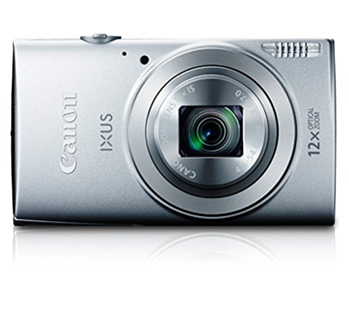 Canon-IXUS-170-20MP-Point-and-Shoot-Digital-Camera-Silver-with-12x-Optical-Zoom