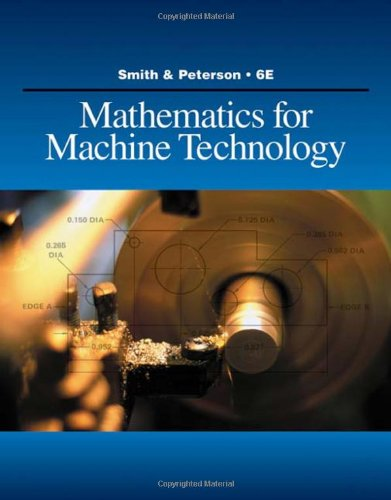 Mathematics for Machine Technology (Applied Mathematics)