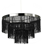 String Tiered Shade Lamp