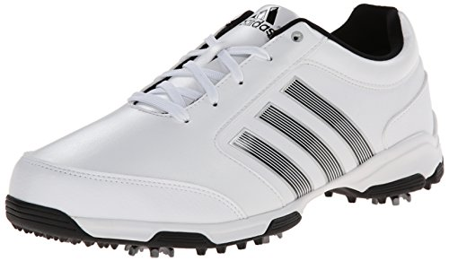 adidas Men's Pure 360 Lite  Golf Shoe, Running White/Core Black/Core Black, 12 M US