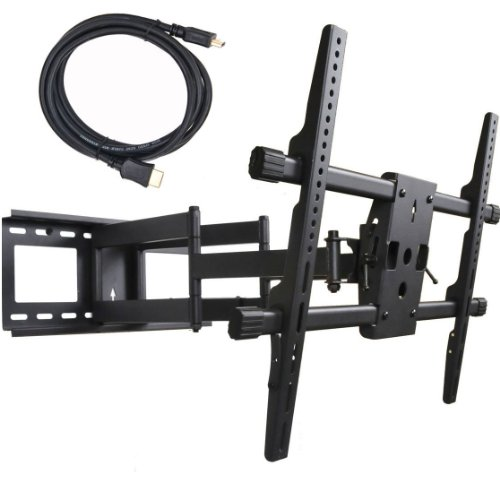 Big Save! VideoSecu Articulating Full Motion TV Wall Mount for 32-65 LED LCD Plasma TVs up to 165 ...