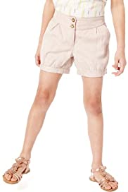 Autograph Pure Cotton Adjustable Waist Jacquard Shorts [T77-4975A-Z]