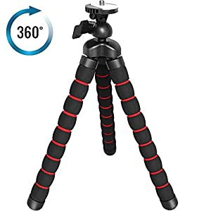 Flexible Camera Tripod with Universal 1/4-inch Tripod Screw - The Bendipod Camera Tripod Provides Excellent Flexibility and Stability for Digital, DSLR, Camcorders and Monopods - Including All Sony, Samsung, Kodak, Canon, Olympus and More! - 360° Degree Turn for All Angles - Get Professional Shots Without the Hassle - Great for Vlogging!
