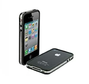 Scosche bandEDGE Case for iPhone 4 - Clear/Black - Fits AT&T iPhone
