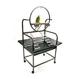 A and E Cage Co. The O Parrot Playstand
