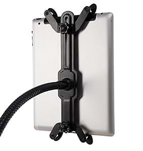 Lavolta Adjustable Stand Holder Mount with Gooseneck Extension Arm for Apple iPad / iPad 2 / iPad3 / New iPad Retina / iPad Mini / iPad Air - Black