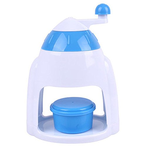 mylifeunit Broyeur à glace pour la maison, Broyeur À Glace Manuel avec bol, assorti bleu