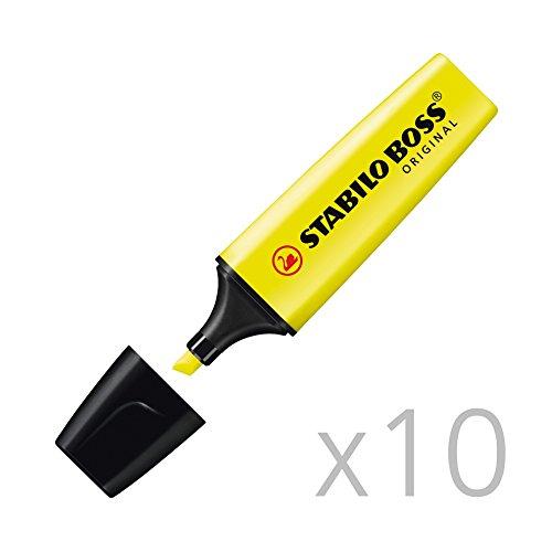 stabilo-boss-original-marcador-10-unidades