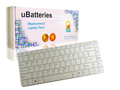 Click to buy UBatteries Laptop Keyboard Sony VAIO VGN-NS135E/S (White) - From only $31.95
