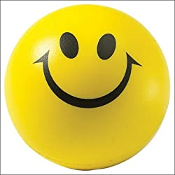 Tukknu Smiley Squeeze Ball Stress Relieve Decorative