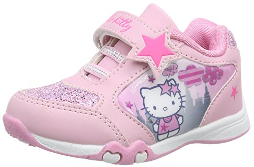 Hello Kitty HK Bacaroy, Low-Top Sneaker Ragazza, Rosa (Pink (13 pink)), 28
