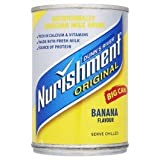 Nurishment sterilised banana drink 12/400g