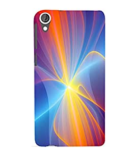printtech Aurora Pattern Back Case Cover for HTC Desire 820